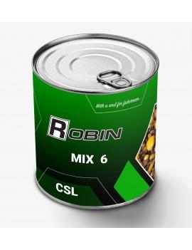 Микс-6 зерен дробл. Robin 900ml ж/б CSL