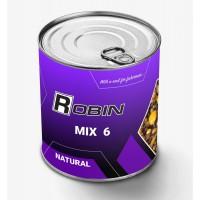 Микс-6 зерен Robin 900ml ж/б