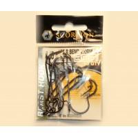 Крючок оффсетный Scorpion Bend worm (ровный)