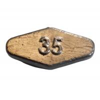 Груз Донный ромбик 35г