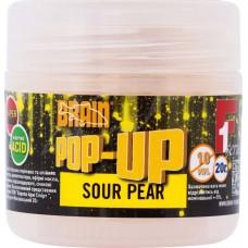 Бойлы Brain Pop-Up 14mm Sweet Corn (груша) 15г
