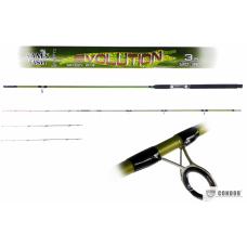 Спиннинг  штекерный Black Crocodile Evolution 3м 180г 2+3к