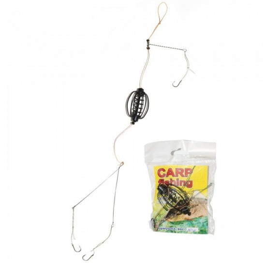 Carp Fishing Кормушка оснащенная арбуз некрашеный